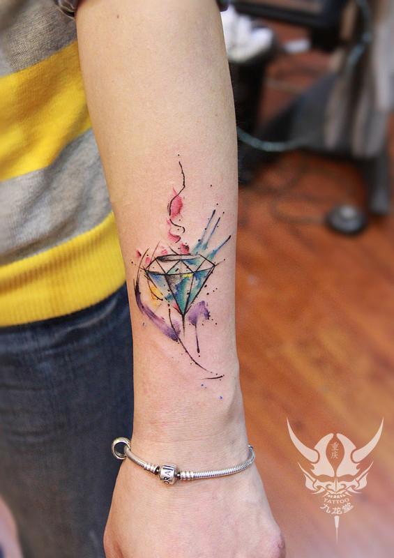 以上纹身动态由重庆最好的纹身店九龙堂纹身提供.图片
